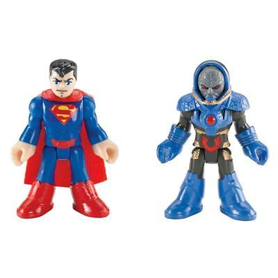 NEW Imaginext Justice League: DC Comics Superman & Darkseid Fisher-Price Figures