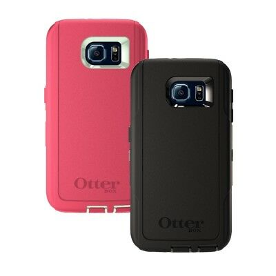 New!! OtterBox Defender For Samsung Galaxy S6 Protective Phone Case - Colors