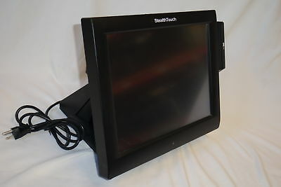 """Pioneer StealthTouch M5 15"""" Touchscreen POS System CeleronT3100 250GB HD 2GB RAM"""