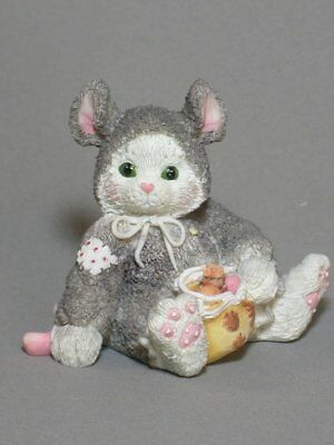 CAN'T DISGUISE OUR FRIENDSHIP Calico Kittens Figurine New! - HALLOWEEN