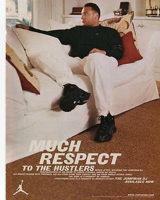 Jumpman Dj Print Ad Featuring New York Yankees Derek Jeter - Jumpman Shoes