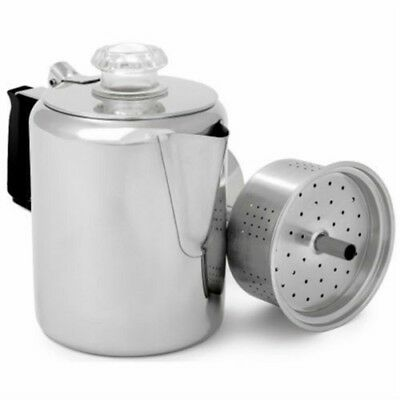 GSI Stainless Coffee Perk 9 Cup