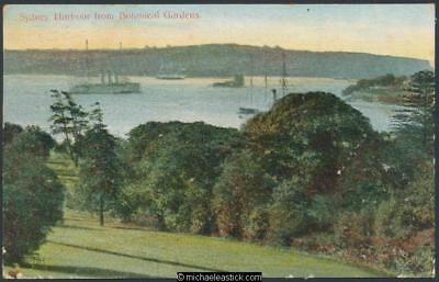Sydney Harbour from the Botanical Gardens