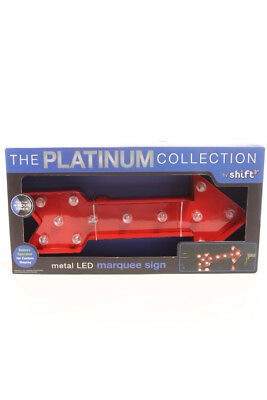 The Platinum Collection by Shift $30 NEW 12 Led Lights Arrow Sign 13X6 INCHES
