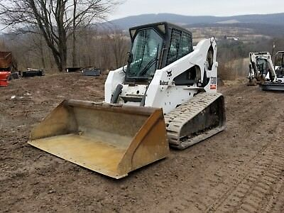 2008 Case 450 Series 3 Skid Steer Cab Heat A/c 2 Spd Ready To Work In Pa!