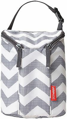 Skip Hop Grab & Go Double Bottle Bag 2 Styles Super Cute Insulated **NEW