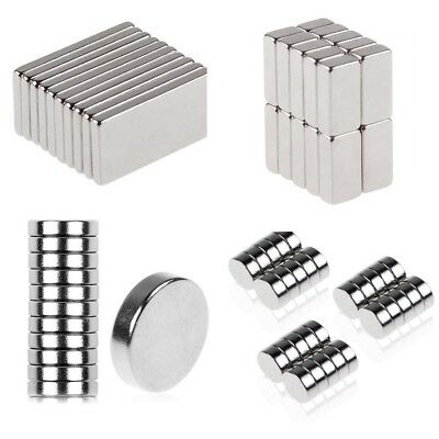 Super Strong 20x10x2mm  Round Disc Magnets Rare Earth Neodymium Magnet N35