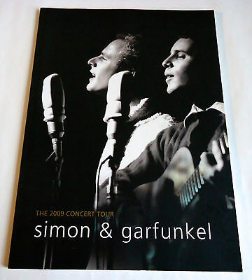 SIMON & GARFUNKEL The 2009 Concert Tour JAPAN TOUR PROGRAM BOOK Paul Art