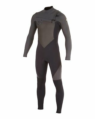 NEW QUIKSILVER™  Mens Syncro 4/3MM GBS Chest Zip Steamer Wetsuit Surf