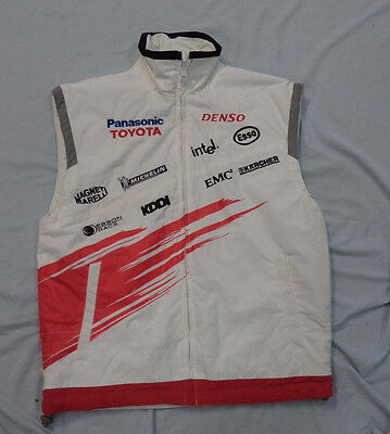 #vv.  Panasonic  Toyota  Sleeveless  Motor Racing Wind  Jacket