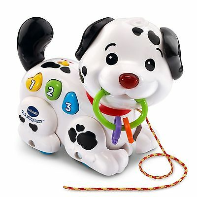 Pull Along Puppy Baby Toy Toddler Activity Educational Music Musical Animal Kids