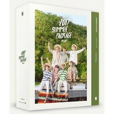 2017 BTS SUMMER PACKAGE Vol.3 DVD+Photo Book+Army Fan+Sticker+Selfie Book+S.gift