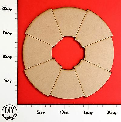 MDF Nautical Ring - Wooden Craft Shape - DIY Decor for Adults and Kids