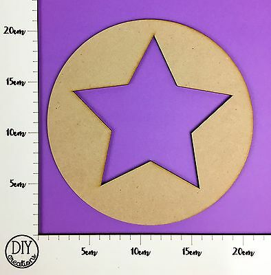 MDF Nautical Star - Wooden Craft Shape - DIY Decor for Adults and Kids