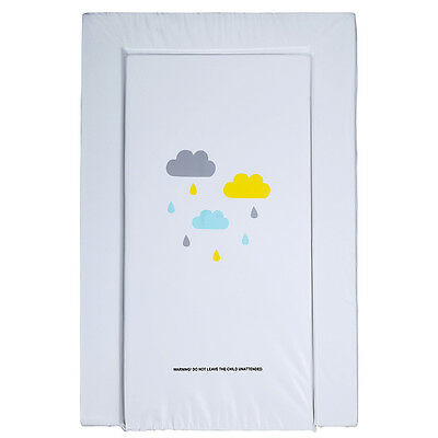 Foam Change Mat Waterproof Baby Nappy Changing White Table Infant Nursery Cover