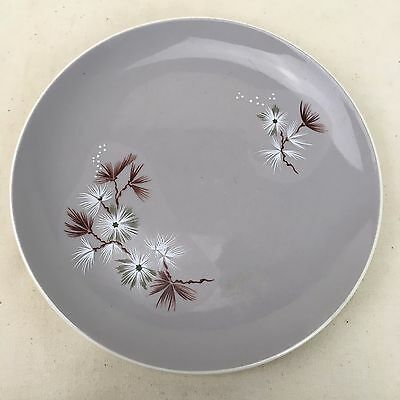 Bread & Butter Plate ROYAL DOULTON FROST PINE D.6450 England VGC Lilac Floral