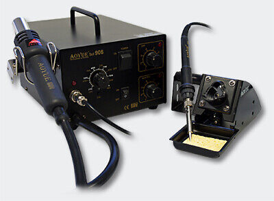 AOYUE Int906 SMD-Rework-Station Hot Air Soldering Station Soldering Iron