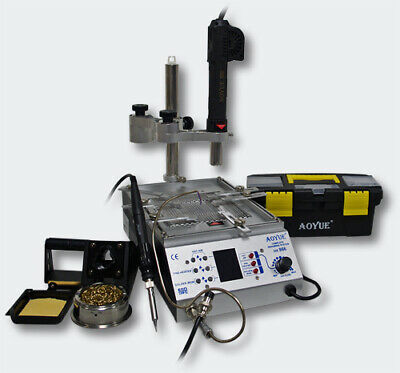 AOYUE Int866 3in1 Rework Station lead free Hot Air Soldering Station