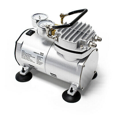 Airbrush Compressor AS20W with Vacuum Pump