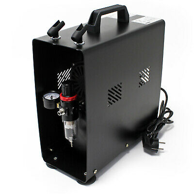Airbrush Compressor AF189A with Air Tank water separator pressure reducer