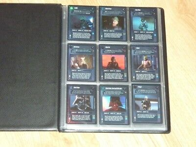 Star Wars CCG Reflections Foils Full Set 114 Very Super and Ultra Rare Cards BB