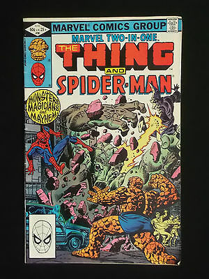 Marvel Two In One - The Thing And Spiderman - Issue 90 - 1982