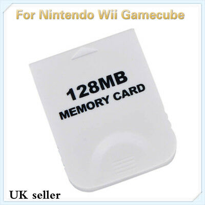 128MB Memory Card For Wii Gamecube New
