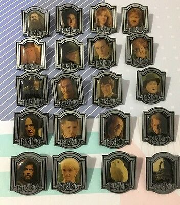 Harry Potter Pin Badge Collection Bulk Lot Of 20 Rare Hard To Find Like New