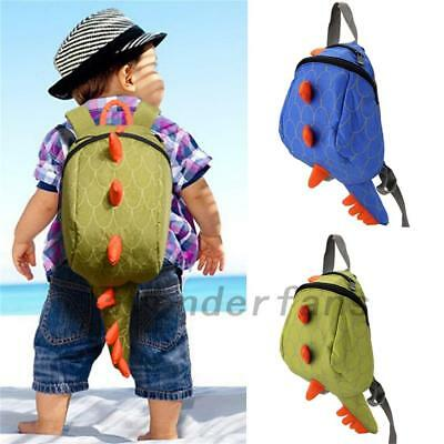 Baby Children Boy Girl School Bag Backpack Dinosaur Rucksack Kindergarten