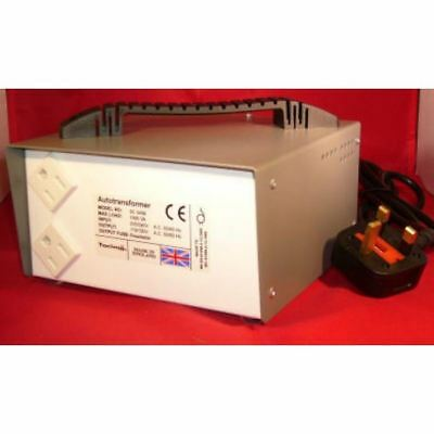 Tacima 1000VA Autotransformer Step Down Voltage Transformer - Use US Items in UK