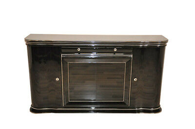 British Sideboard in High Gloss Black
