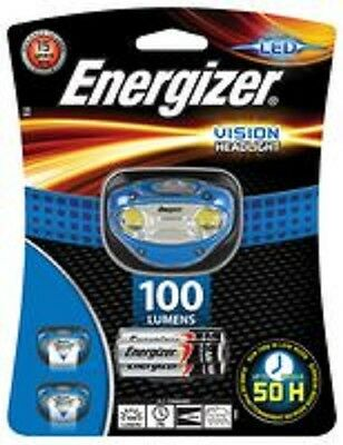 Energizer Vision Headlight Bright Led 100 Lumens  Batteries Included  34405