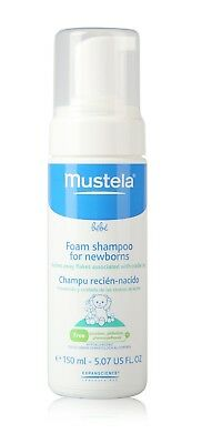 MUSTELA Foam Shampoo for Newborns 150ml