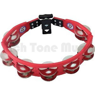 Latin Percussion LP161 LP Cyclops - Tambourine - Red - Mountable