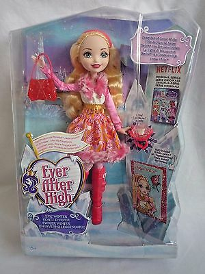 Ever After High / Apple White Doll / Epic Winter / Snow Whites Daughter / Sealed