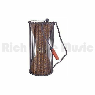 Toca T-TLKD Talking Drum with Beater - African Mask 8 Inchx16 Inch