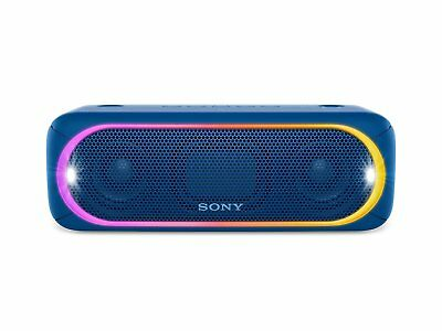 Sony SRS-XB30 Portable Wireless Speaker with Extra Bass and Lighting BLUE