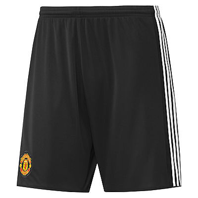 adidas Manchester United Home Change Shorts 2017-18 - Kids Boys Girls Football