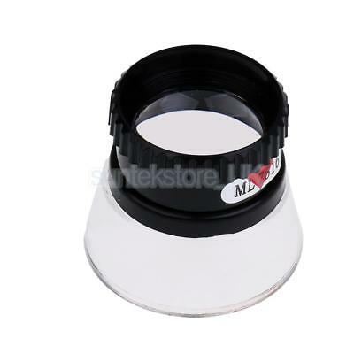 15X Multifunctional Cylinder Eye Magnifier Magnification Glass Loupe Lens