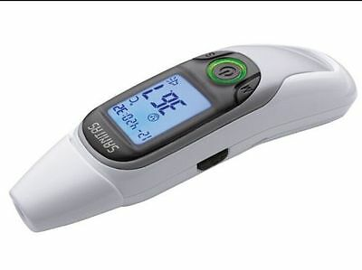 SANITAS Fever thermometer SFT75 Ear Forehead NEW Multifunctional 6 in 1 function