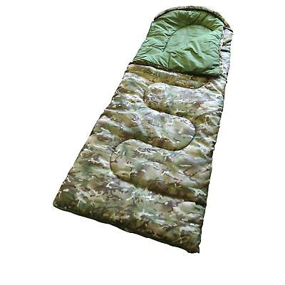 Kombat Junior Kids Army Sleeping Bag - BTP Cadet Army Camo Camouflage