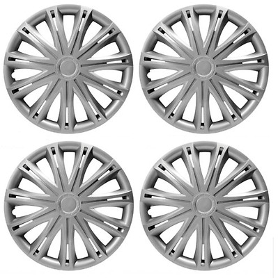 Peugeot 206 + Sw Cc Wheel Trim Hub Cap Plastic Covers Full Set Spark 16 Inch