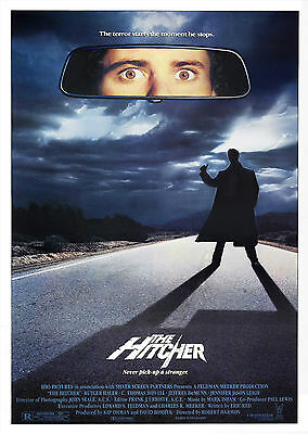 The Hitcher (1986) - A2 A3 A4 POSTER ***LATEST BUY 1 GET 1 FREE OFFER***