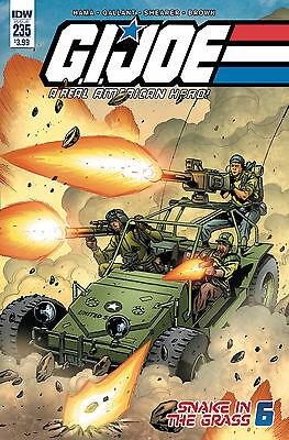 Gi Joe A Real American Hero #235 (Idw 2017 1St Print) Comic