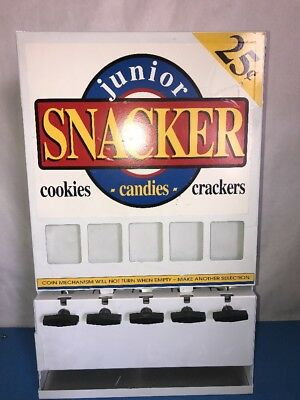Junior Snaker 25 Cent Venting Machine *no Keys*