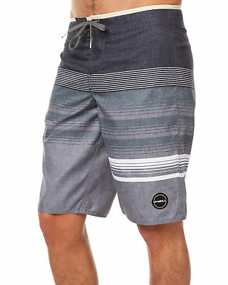 New O'neill Men's High Punts Mens Boardshort Suede Fitted Black