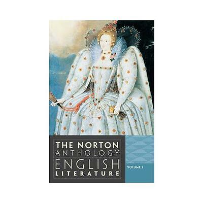 The Norton Anthology of English Literature by Stephen Greenblatt, Carol T. Ch...
