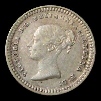 1838 Silver Great Britain 1 1/2 Pence Maundy Extra Fine Condition