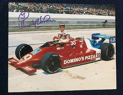 HOWDY HOLMES SIGNED Indy 500 (8x10) Photo -Guaranteed