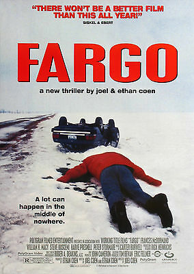 Fargo (1996) - A2 POSTER ***LATEST BUY 1 GET 1 FREE OFFER***